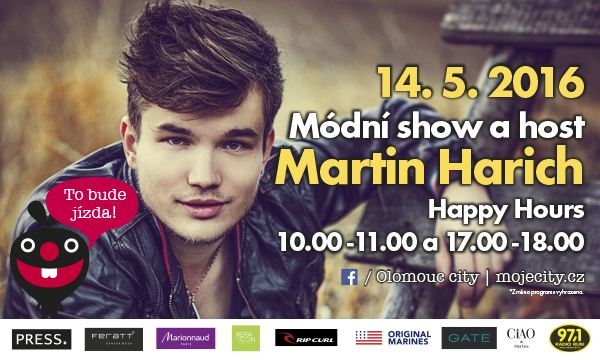 Happy Hours 14. 5. 2016 10:00 - 11:00, 17:00 - 18:00