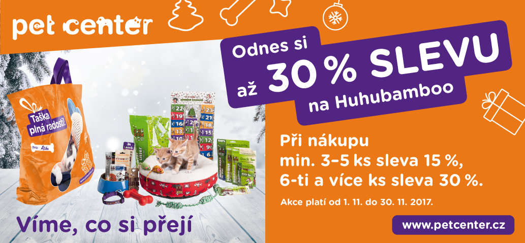 Pet Center - taška plná radosti