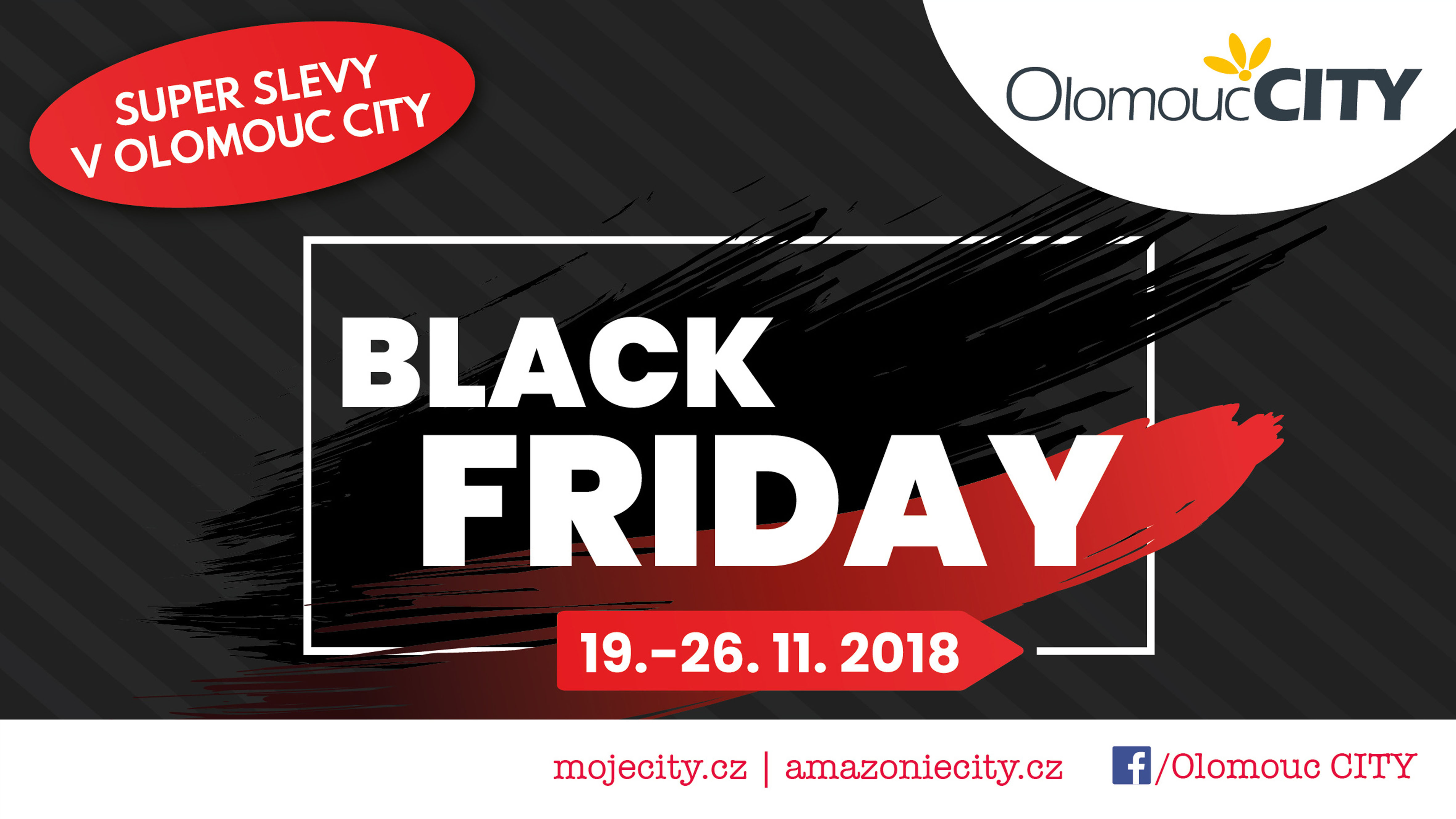 Black Friday v Olomouc CITY